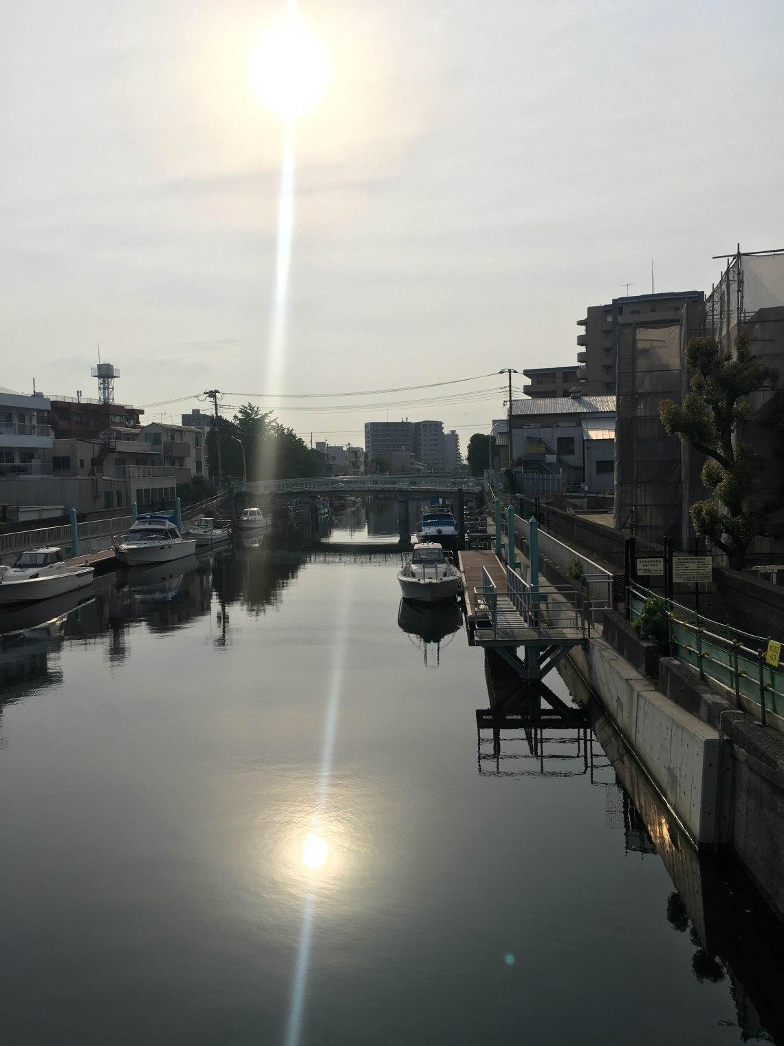 haneda tokyo run scenery 2