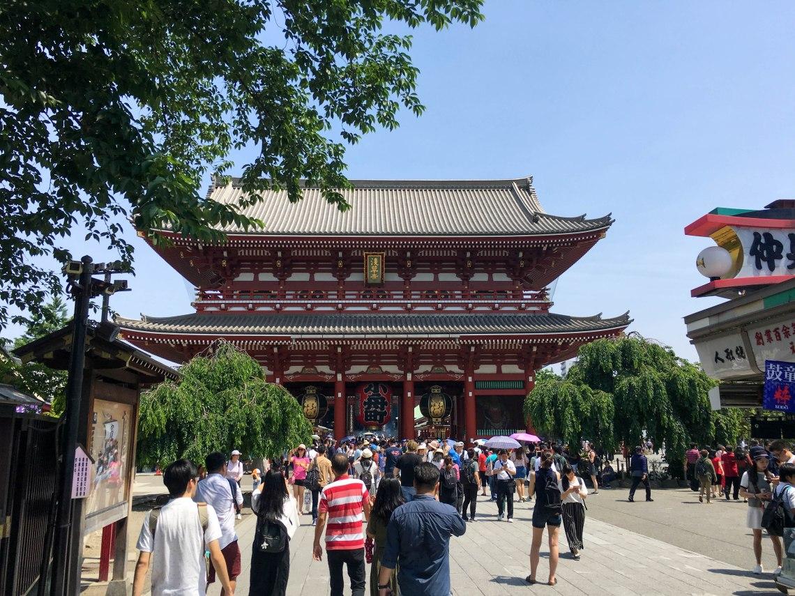 asakusa sensoji temple tokyo japan 4