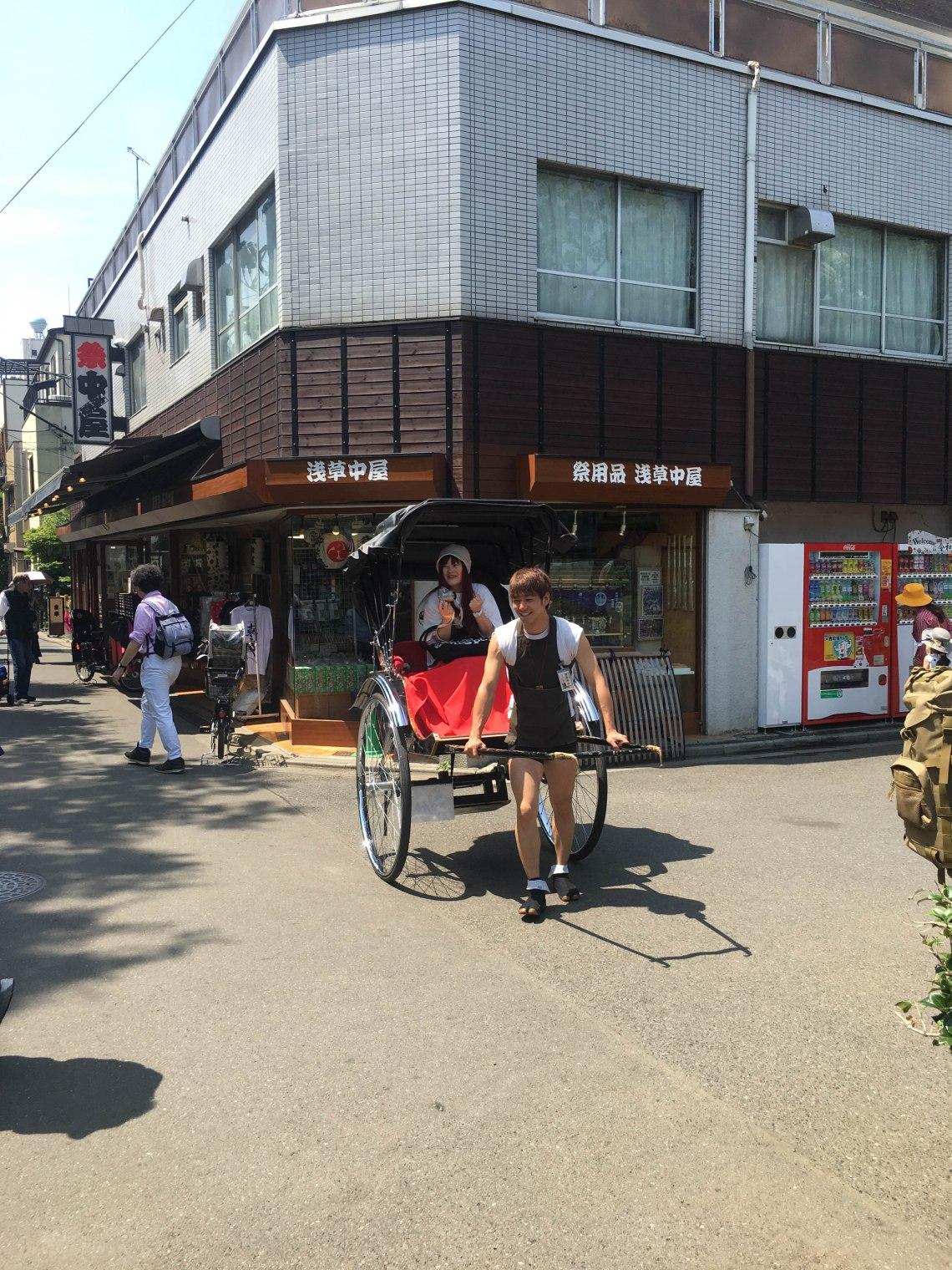 Trishaw Tokyo Japan Asakusa 1