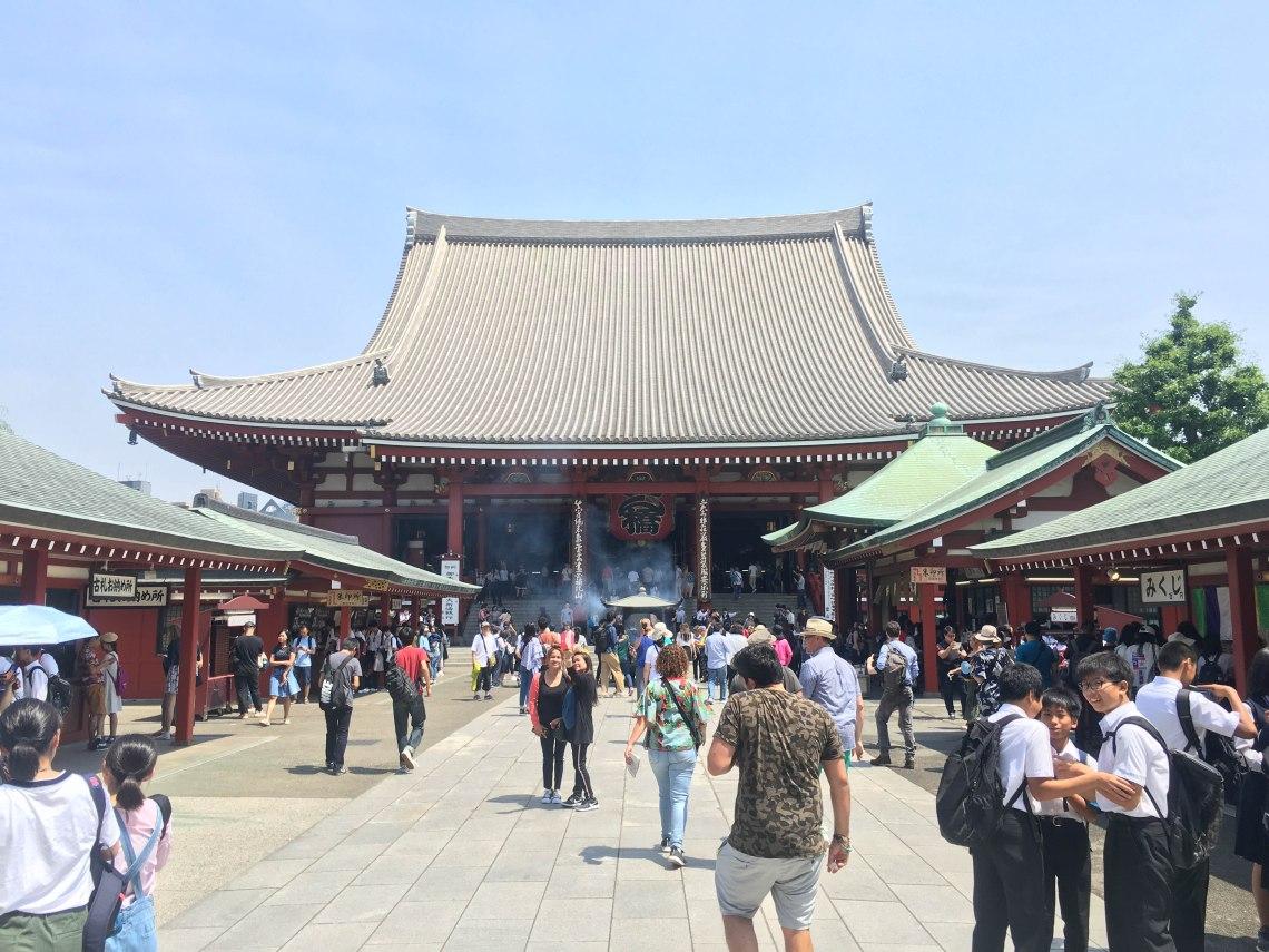 asakusa sensoji temple tokyo japan 2