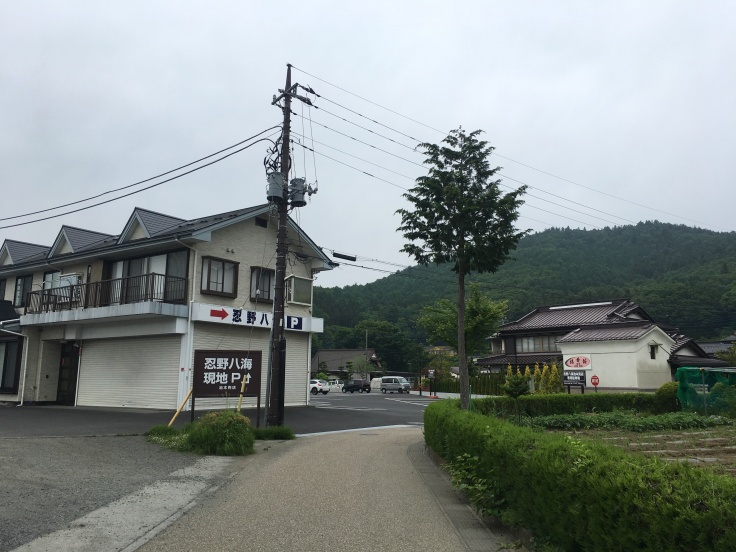 Small town at Mount Fuji Japan 3