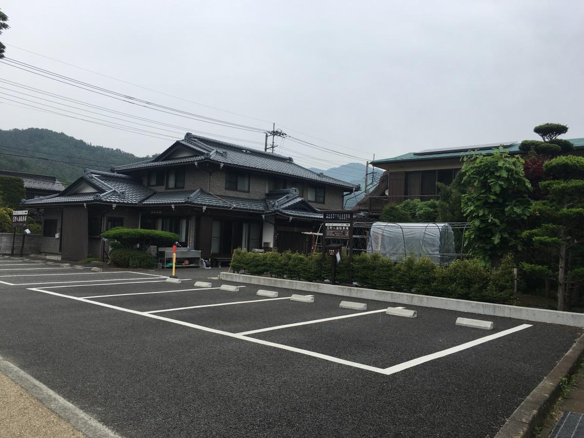 Small town at Mount Fuji Japan 4