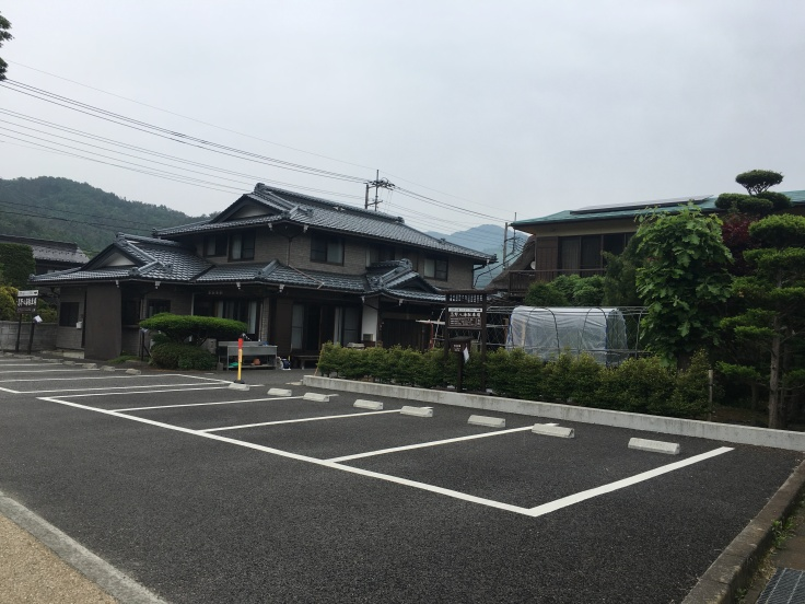 Small town at Mount Fuji Japan 4