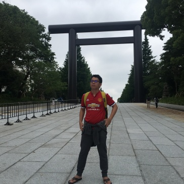 Yasukuni Shrine Kudanshita Tokyo Japan 1