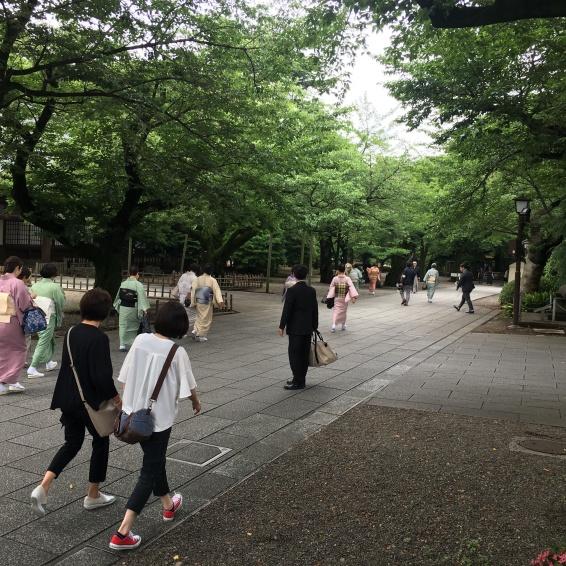 Yasukuni Shrine Kudanshita Tokyo Japan 8