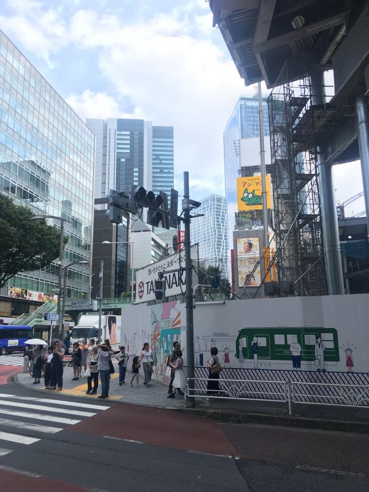 Streets of Shibuya Tokyo Japan 3