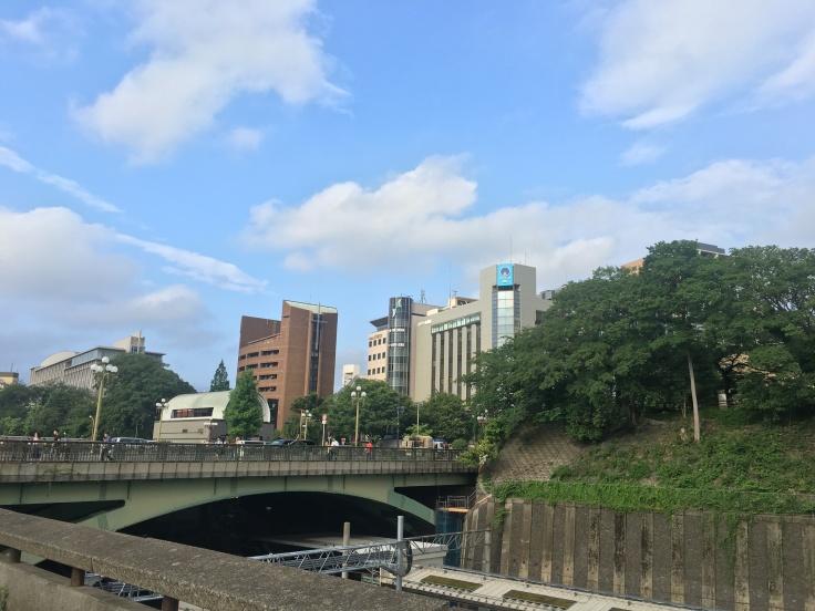 Yotsuya Tokyo Japan view 2
