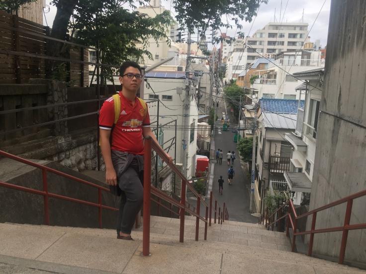 Yotsuya kimi no nawa stairs Tokyo Japan 3