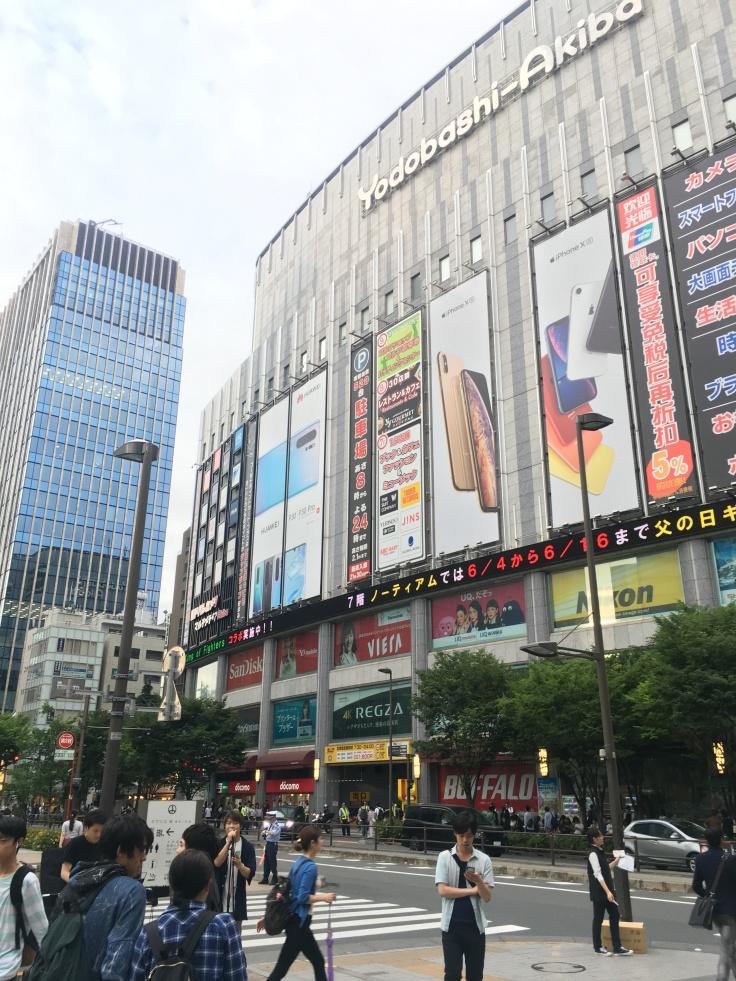 Electronics Akihabara Tokyo Japan