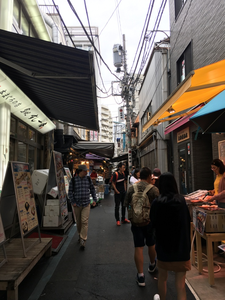 Tsukiji Fish Market Tokyo Japan 1