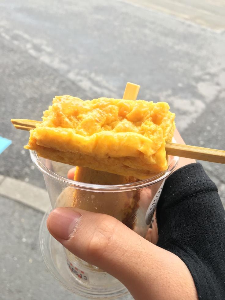Food from Tsukiji Fish Market Tokyo Japan 1