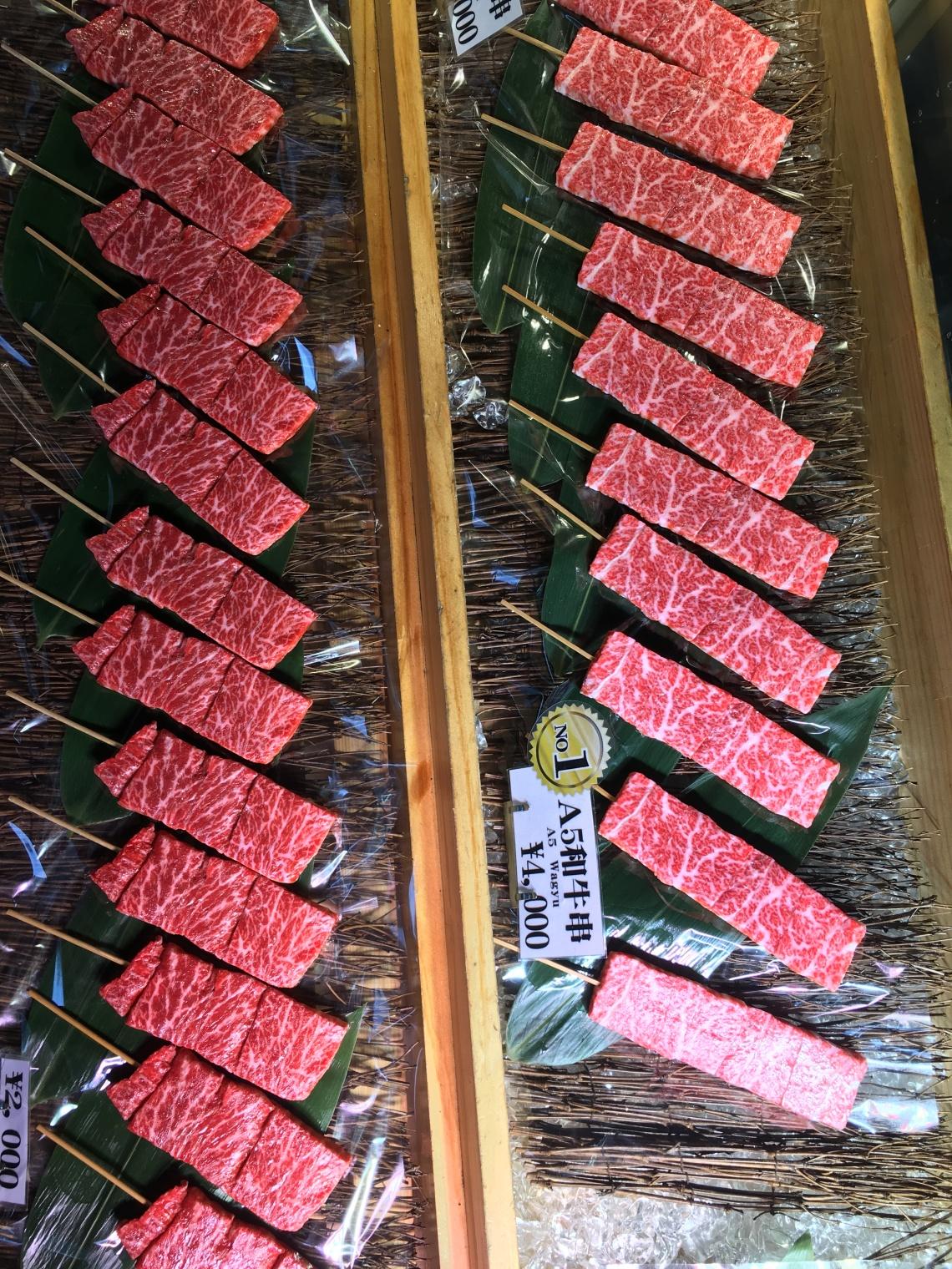 Food from Tsukiji Fish Market Tokyo Japan 3