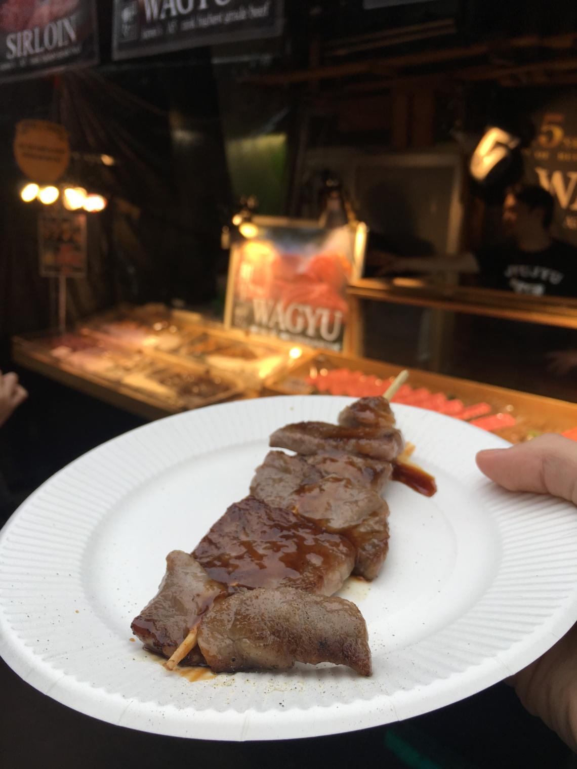 Food from Tsukiji Fish Market Tokyo Japan 4
