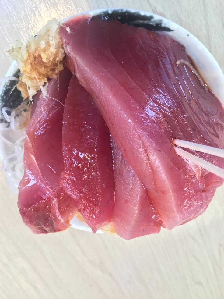 Food from Tsukiji Fish Market Tokyo Japan 5