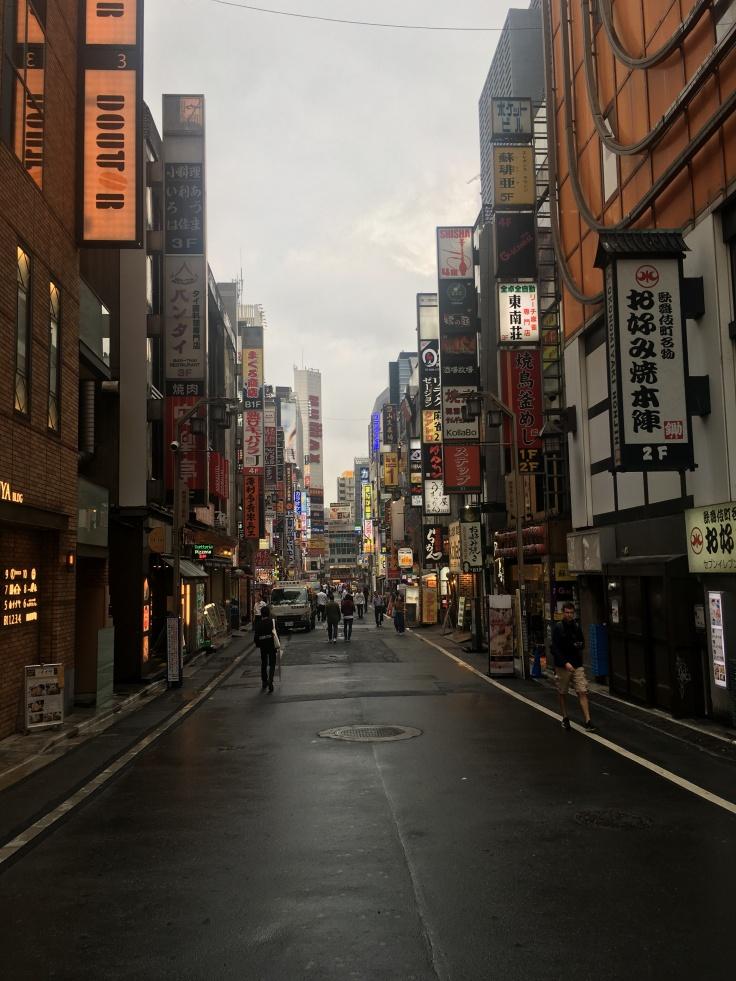 Shinjuku lights street Tokyo Japan 2