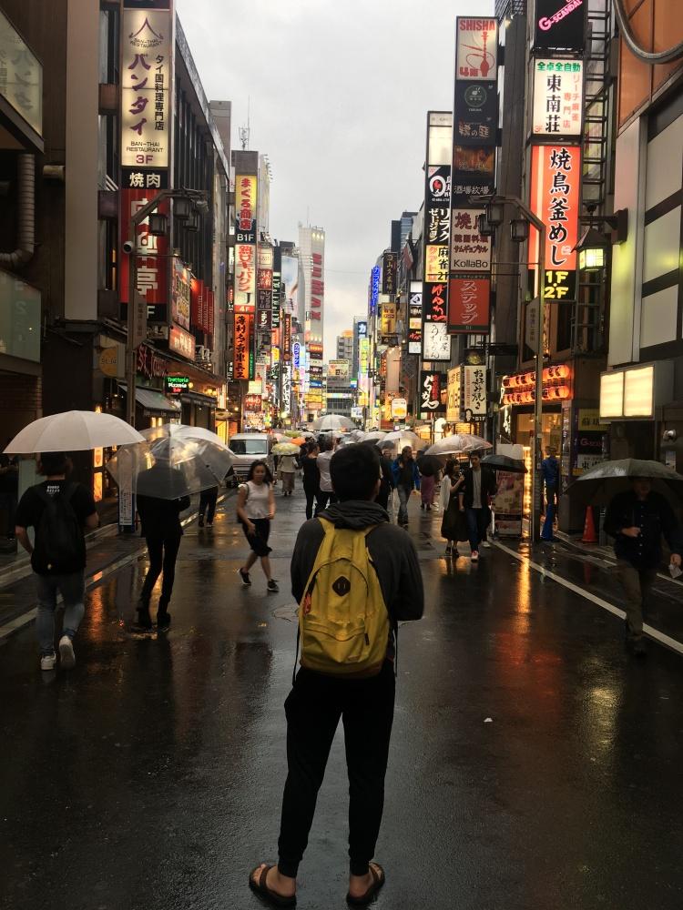 Shinjuku lights street Tokyo Japan 1