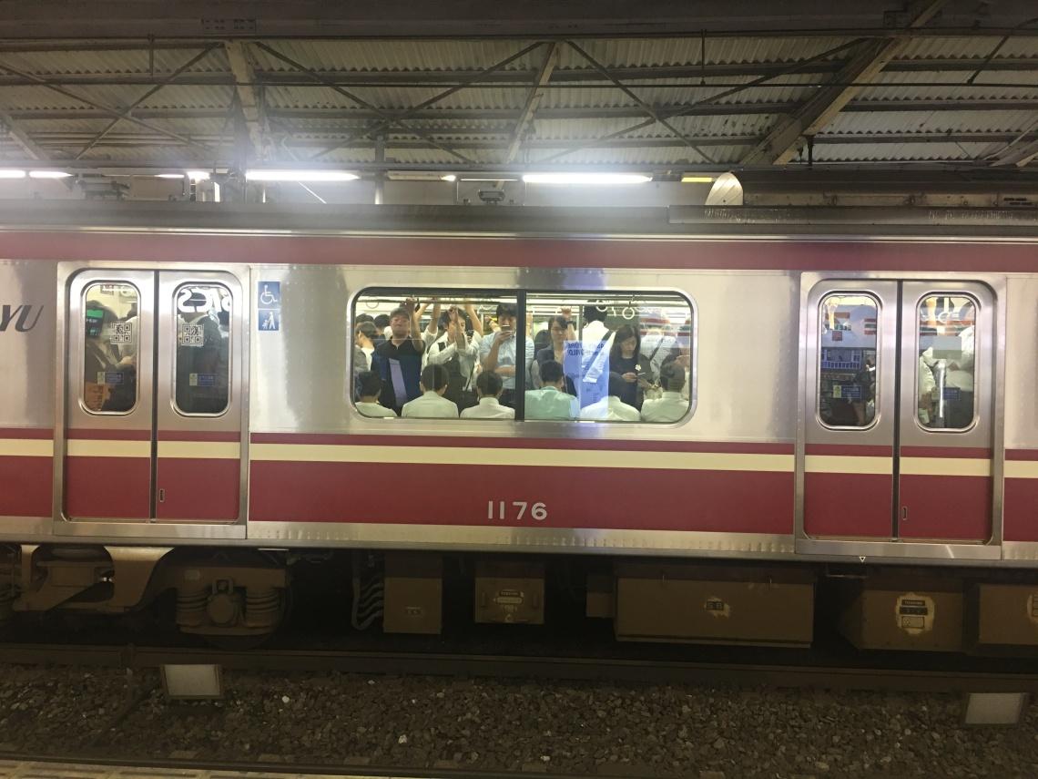 Trains at Tokyo Japan