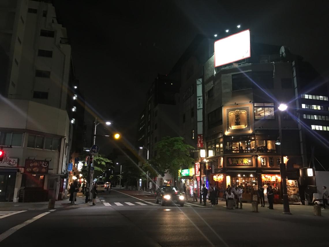 Streets near Tokyo tower. 2