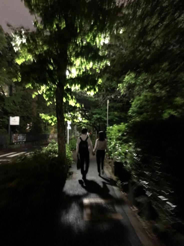 Couple 3 near Tokyo Tower Japan