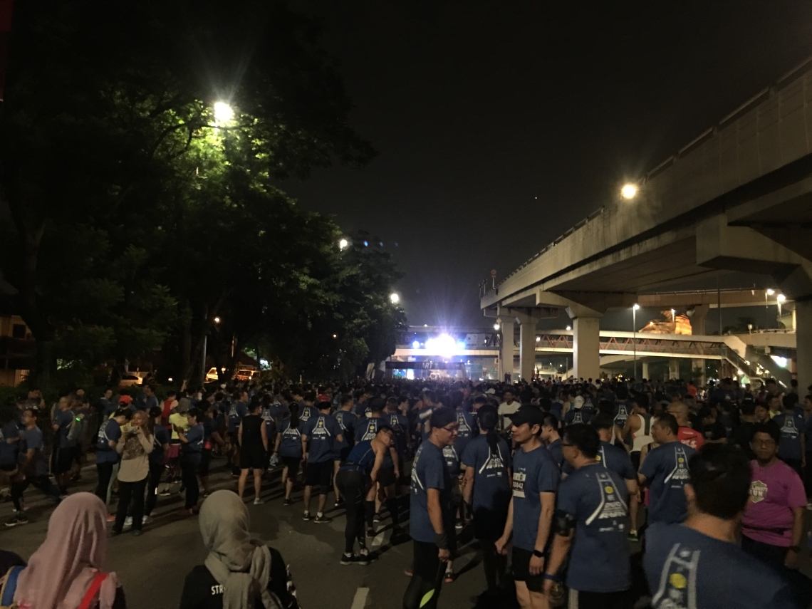 NPE Half Marathon Run 1